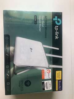 TP LINK AC1900 Dual Band Gigabit Wireless Router - Brand new