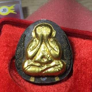 Phra Pidta Roon Sao-Ha KoonPanLan Gold Mask (Millionaire Batch)