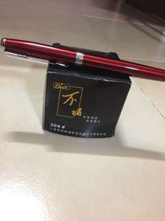 Hero fountain pen with black ink
