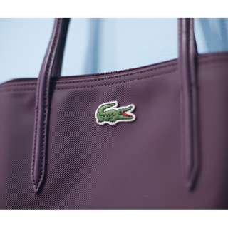 REPRICE! Orig & Brand New Purple Lacoste Tote bag