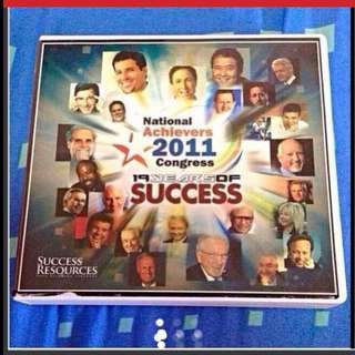$150 (1994-2010) National Achievers Congress 4-CDs (Brand New) - Left 2 sets Only !!