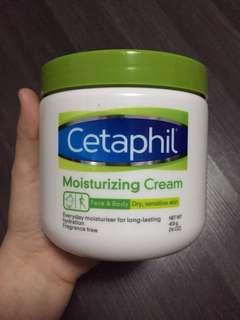 NEWLY STOCKED!! PROMO! Cetaphil Moisturizing Cream   Face & Body (16OZ)