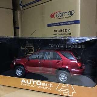 1/18 Toyota Harrier. AutoArt