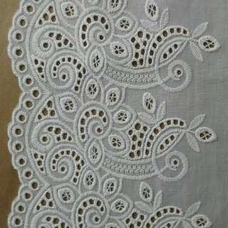 Cotton Lace Taiwan (6 inch) SEMETER