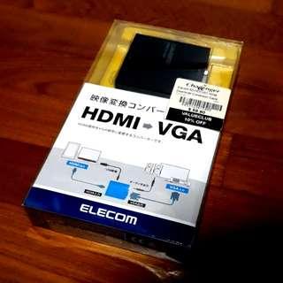 Elecom HDMI → VGA Adaptor