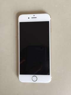 iPhone 6 128 gb (gold color)