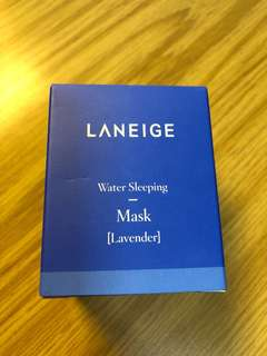 Laneige water sleeping mask lavender 25ml