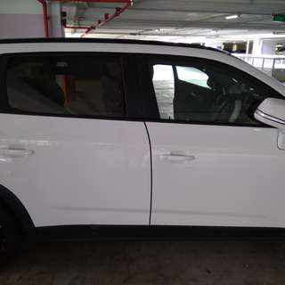 Chevrolet Orlando invisible car door edge guard bumper protection