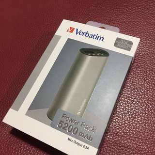 (new) Verbatim power bank