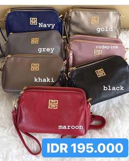 2in1 Sling Bag + Pouch