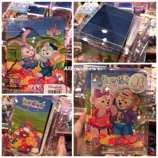 PO Hong Kong Disney springtime carnival Duffy, Shelliemay, gelatoni And Stella Lou book holder