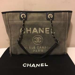 Chanel Deauville tote bag