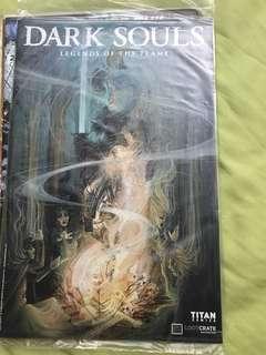 Titan Comics Dark Souls Legends of the Flame #1 LootCrate Exclusive Variant