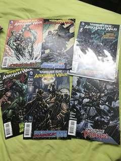 DC Forever Evil Arkham War #1-6 COMPLETE