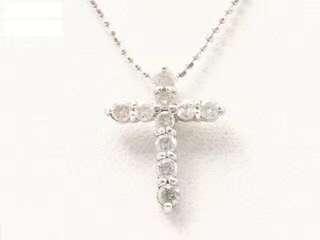 🎉🎉🎉人气十字架✨钻石白金铂金项链🎁