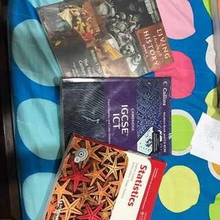 Alevel & IGCSE books