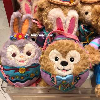 PO Hong Kong Disney springtime carnival Duffy And Stella Lou sling bag
