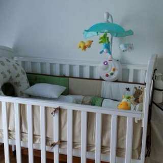 Preloved Convertible Baby Cot
