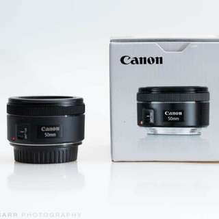 Cheapest! Canon 50mm F1.8 STM