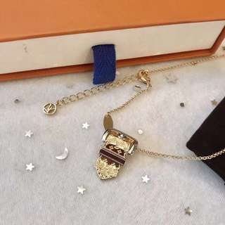 LV necklace