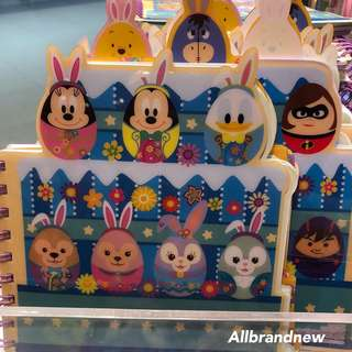 PO Hong Kong Disney springtime carnival Duffy, Shelliemay, gelatoni And Stella Lou notebook