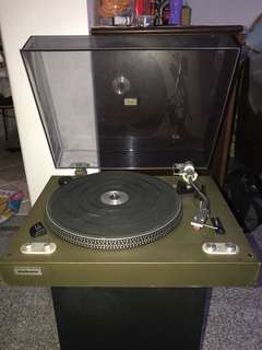 Authentic turntable