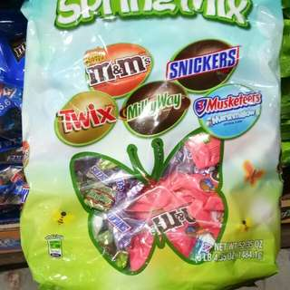 mars spring mix chocolate 165 pcs.