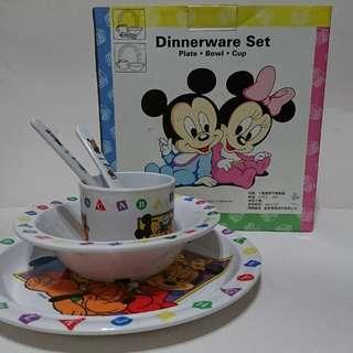 米奇米妮兒童餐具組