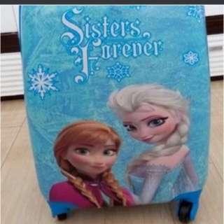 "Brand new frozen luggage - 18"""