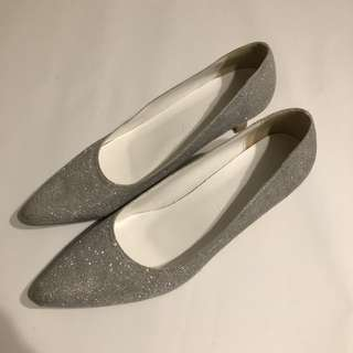 婚紗 / 晚裝高跟鞋 Wedding / Evening Shoes (Size 39)