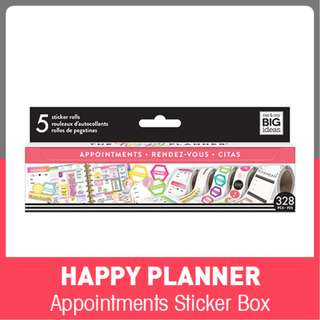 Happy Planner Sticker Rolls, Appointments