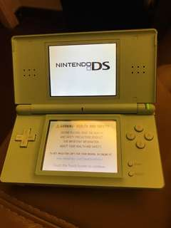Nintendo NDS in Pale Blue