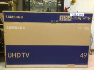 Samsung TV 49 inch empty box