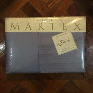 Atelier Martex Patrician Sateen King Flat Sheet