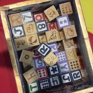 Pre-loved blocks
