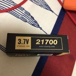 IJOY 21700 電池 40A放電 3750mAh