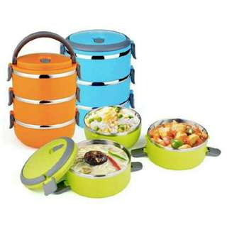 Lunch Box / Rantang Susun 3 Stainless