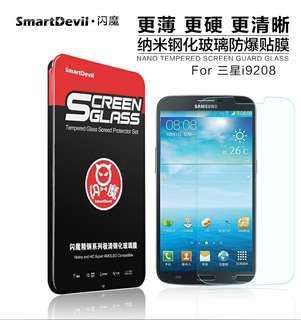 閃魔 三星samsung I9200鋼化膜 I9208玻璃膜p729 i9205 手機貼膜保護膜 mon貼