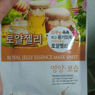 Royal jelly mask CLEARANCE