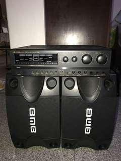 BNB . 1 amp n 2 speaker