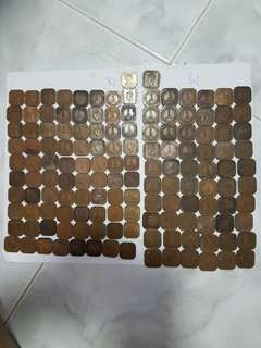 142pc of old coin
