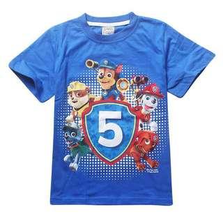 Paw Patrol Blue T-Shirt - 5