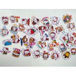 [Instock] Stickers Scrapebook/ Planner Stickers #63 (Hello Kitty)