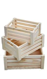 Deco Wooden Crates