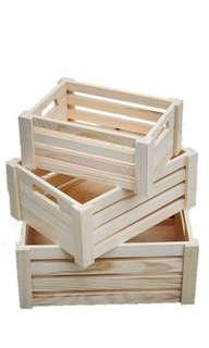 Deco Wooden Crates