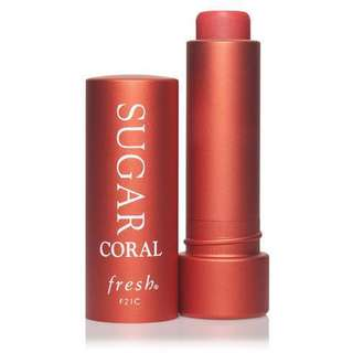 Sugar Tinted Lip Treatment Sunscreen SPF 15 in Coral