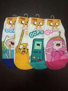 Adventure Time 10 Socks (3 for $10.00)