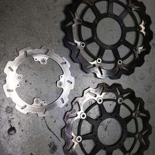 Braking brake rotor for CBR600RR and CBR1000 2004-2005