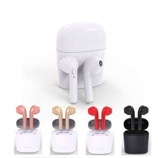 In Ear Mini TWS Wireless Bluetooth Earphone with Mic I7S