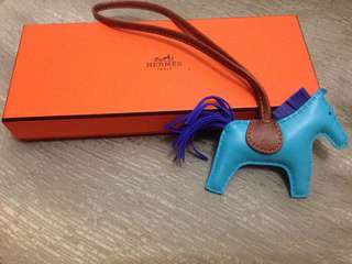Authentic Hermes Rodeo Bag Charm